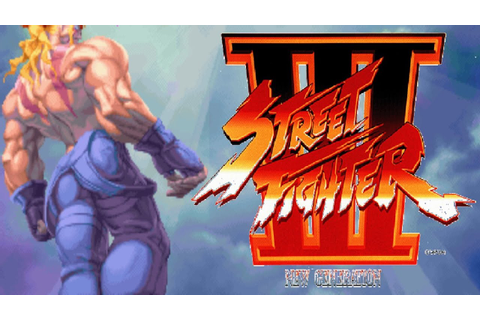Street Fighter III - New Generation - Alex (Arcade) - YouTube