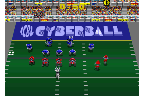 Cyberball: Football in the 21st Century arcade video game ...