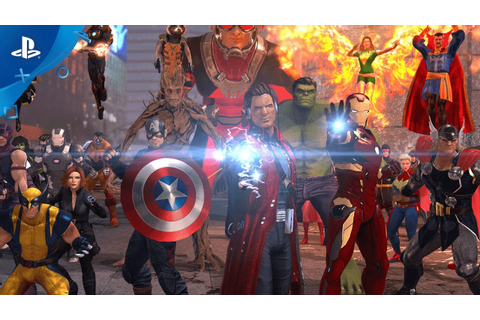Marvel Heroes Omega - Announce Trailer | PS4 - YouTube