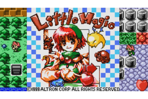 Little Magic | Game Boy Color | Altron | 1999 - YouTube