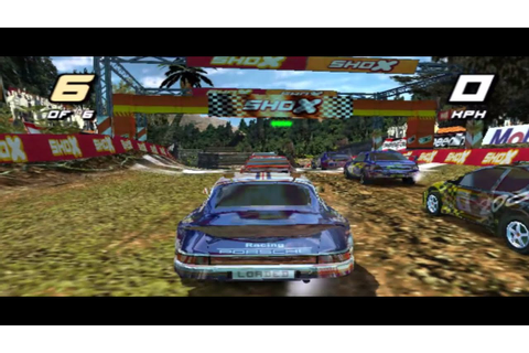 Porsche 911 Paris-Dakar - SHOX Rally Racing Game (PS2 ...