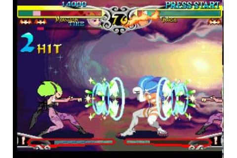 DarkStalkers 3 (1998) by Capcom PS game