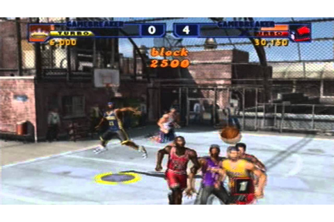 NBA Street Vol 2 Gameplay-Pick up Game - YouTube