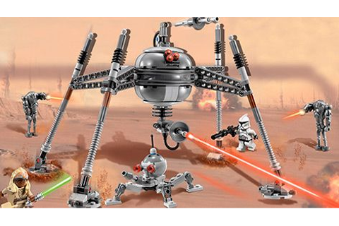 75016 Homing Spider Droid $29.99 | LEGO Star Wars | Lego ...