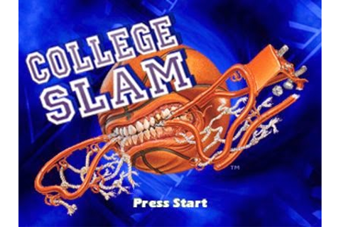 College Slam PS1 ISO - Game Full Collection