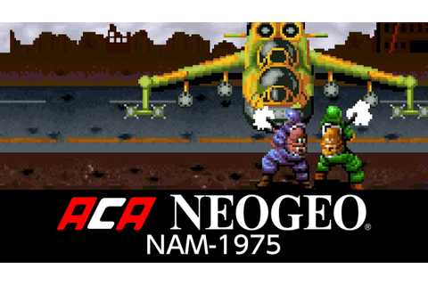 ACA NEOGEO NAM-1975 - YouTube