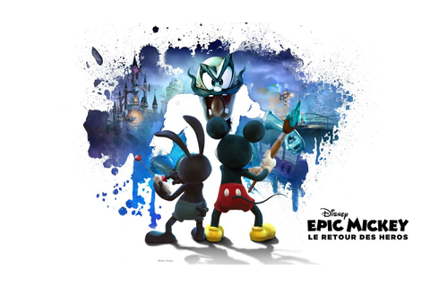 [TEST] Epic Mickey Le Retour Des Héros [HD] - YouTube
