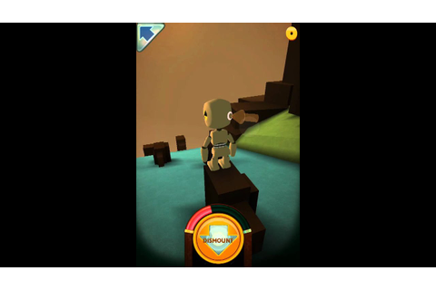 Stair dismount gameplay - YouTube