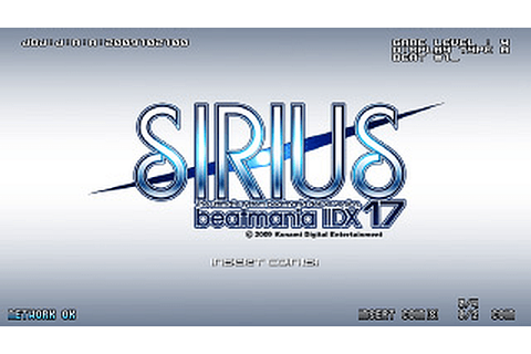 beatmania IIDX 17 SIRIUS arcade video game by Konami ...