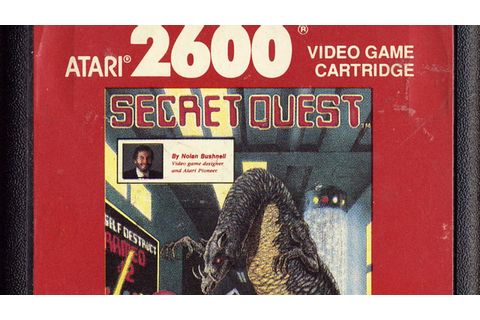 Classic Game Room - SECRET QUEST Atari 2600 review - YouTube