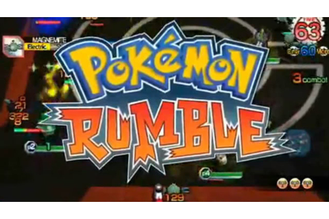 CGRundertow POKEMON RUMBLE for Nintendo Wii Video Game ...