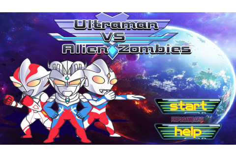 Ultraman VS Alien Zombies Walkthrough - Frip Games - YouTube