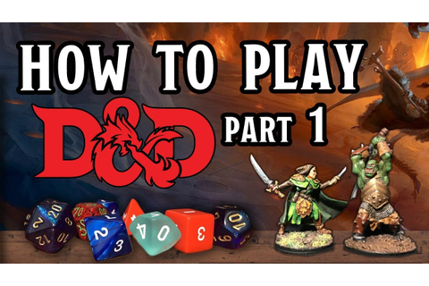 How to Play D&D part 1 - A Sample Game Session - YouTube