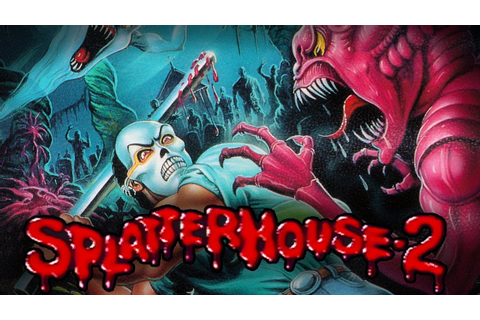 Halloween-sessio: Splatterhouse 2 (Sega Mega Drive) - YouTube
