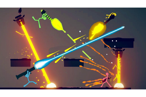 WIELDING EPIC NEW CUSTOM WEAPONS IN CRAZY STICK FIGHT ...
