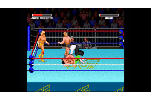 WWF Super Wrestlemania (1991) - Gameplay - YouTube