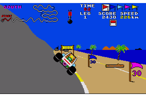 Buggy Boy (1988) by Elite Amiga game