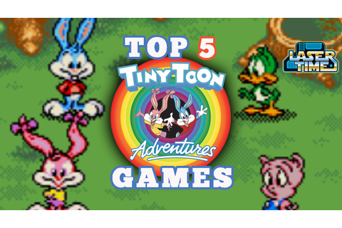 The Top 5 Tiny Toons Games - YouTube