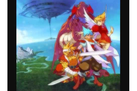 [13] Flight • Breath of Fire III (3) Original Game ...