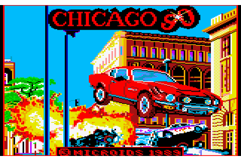 Chicago 90 (1989) by Microïds Amstrad CPC game