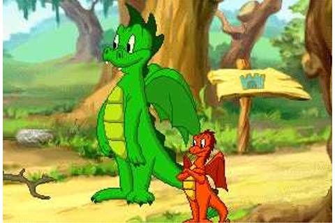 SuperKids Software Review of Darby the Dragon.