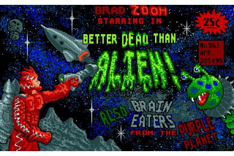 Better Dead Than Alien! (1988) by Oxford Digital ...