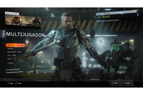 Call of Duty® Black Ops III PRIMER GAME PLAY - YouTube
