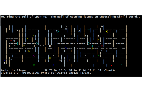 Awesome game experiences – Nethack | Marzzbar's Blog