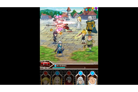 Nanatsu No Taizai Knights In The Pocket Gameplay - YouTube