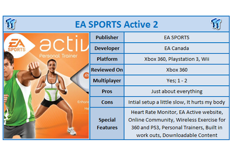 Tech n Gadgets Blog: EA Sports Active 2 Xbox 360 Kinect Review