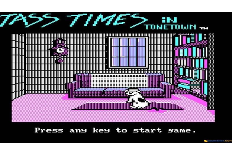 Tass Times in Tonetown gameplay (PC Game, 1986) - YouTube