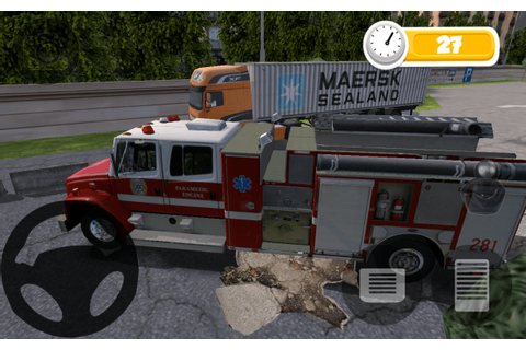 FIRE TRUCK PARKING HD - Android Apps on Google Play