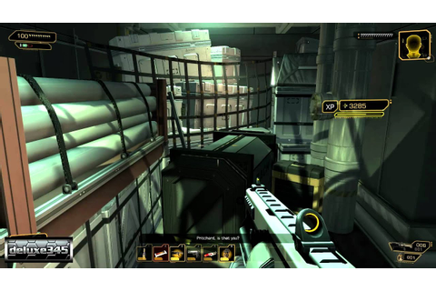Deus Ex: Human Revolution - The Missing Link Gameplay (PC ...