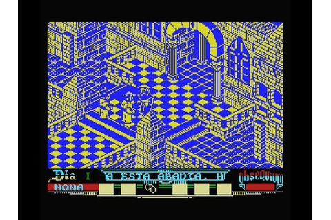 La Abadia del Crimen MSX Gameplay - YouTube