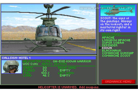 Gunship 2000 - screenshots gallery - screenshot 1/3 ...