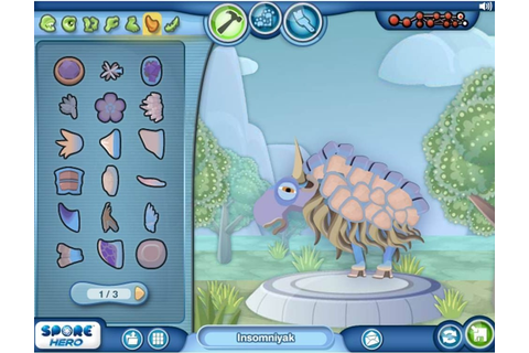 Spore Hero Arena – El Mundo Tech