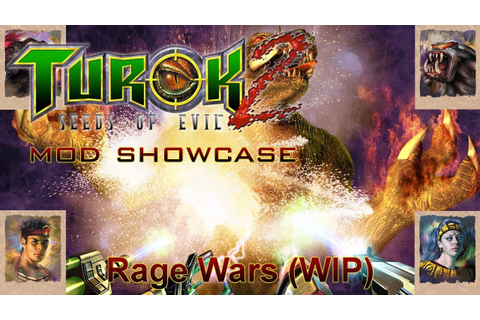 Turok: Rage Wars on PC (W. I. P.) - YouTube