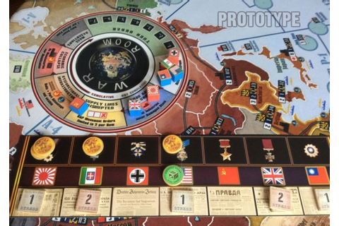 Axis & Allies creator Larry Harris is back with WWII ...