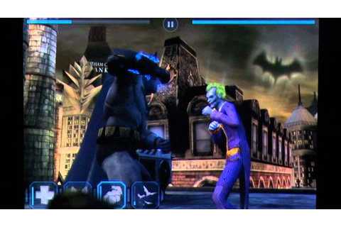 Batman Arkham City Lockdown iPhone Gameplay Review ...