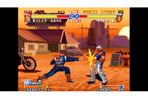Real Bout Fatal Fury 2: The Newcomers DRM-Free Download ...