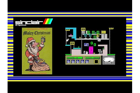 MOLEY CHRISTMAS (Monty Mole 4.5) - ZX Spectrum Game Review ...