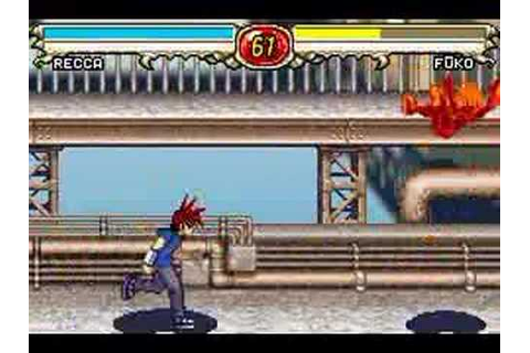 Flame of Recca / Recca no Honoo (GBA) - Gameplay - YouTube