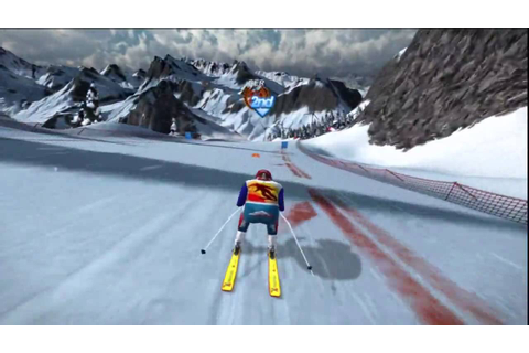 Winter Sports 2010 (PS3) Gameplay: Downhill Skiing - YouTube