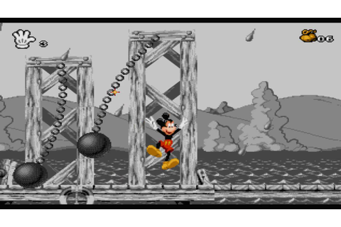 Vidéo-in Game ~ Mickey Mania : The Timeless Adventures of ...