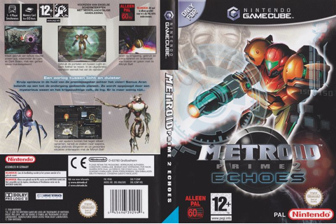 Metroid Prime 2: Echoes (2004) GameCube box cover art ...