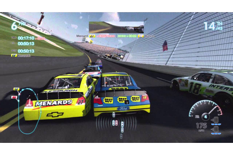 NASCAR The Game: Inside Line Race at Daytona (Matt Kenseth ...