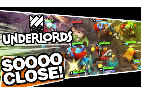 DOTA Underlords - CLOSEST GAME OF MY LIFE! - YouTube