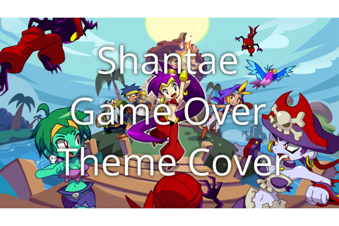 Shantae Game Over Theme (VRC6 Cover) - YouTube