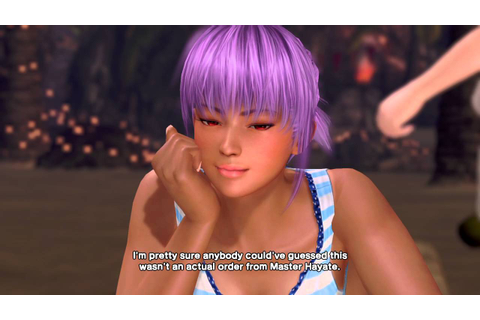 DEAD OR ALIVE Xtreme 3 Fortune event paradise mode - YouTube