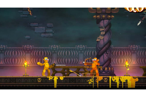 Nidhogg 2 announced | Middle Of Nowhere Gaming